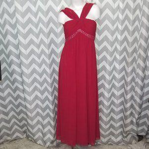 OC by Oleg Cassini red formal dress